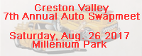 Creston Valley 7th Annual Auto Swapmeet